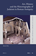 Art  History and the Historiography of Judaism in Roman Antiquity