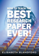 Pdf How to Teach the Best Research Paper Ever!