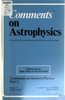 Comments on Astrophysics