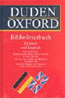Duden Oxford Bildw  rterbuch Deutsch und Englisch
