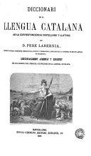 Diccionari de la llengua catalana ab la correspondencia castellana y llatina, 2