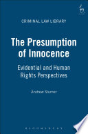 The Presumption of Innocence Book