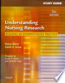 Study Guide for Understanding Nursing Research, 5th Edition