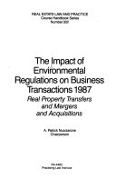 The Impact Of Environmental Regulations On Business Transactions