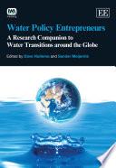 Water Policy Entrepreneurs Book PDF