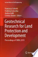 Geotechnical Research for Land Protection and Development Book