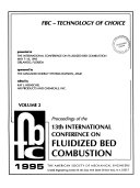 The Proceedings of the     International Conference on Fluidized Bed Combustion