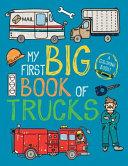 My First Big Book of Trucks Book