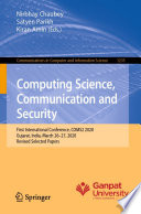 Computing Science  Communication and Security