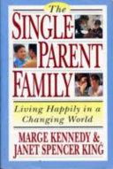 The Single Parent Family