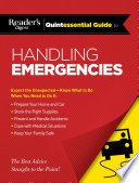 Reader S Digest Quintessential Guide To Handling Emergencies