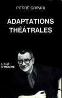 Adaptations théâtrales ebook