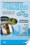 Proceedings of the 8th International Symposium on Superalloy 718 and Derivatives