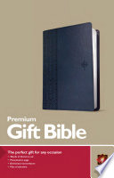 Premium Gift Bible NLT (Red Letter, Leatherlike, Blue)