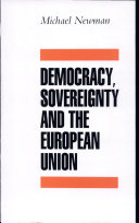Democracy, Sovereignty and the European Union
