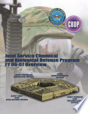 Annual Report To Congress And Performance Plan Joint Service Chemical And Biological Defense Program 2006