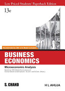 Business Economics, Microeconomic Analysis 13e Pdf/ePub eBook