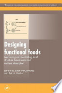 Designing Functional Foods Book