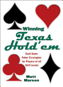 Pdf Winning Texas Hold'em