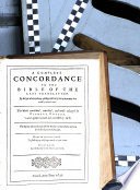 A Complete Concordance to the Bible of the Last Translation