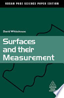 Surfaces and Their Measurement Book