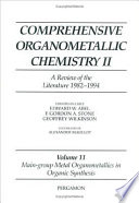 Main-Group Metal Organometallics in Organic Synthesis