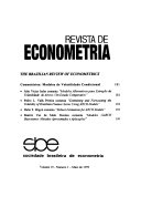 Revista de econometria