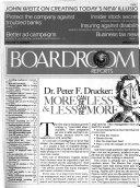Boardroom Reports