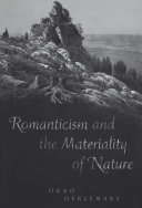 Romanticism and the Materiality of Nature Pdf/ePub eBook