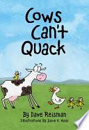 Cows Can t Quack