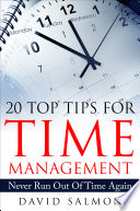20 Top Tips for Time Management Book PDF