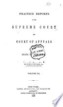 Practice Reports in the Supreme Court and Court of Appeals