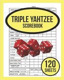 Triple Yahtzee Scorebook For Triple Yahtzee