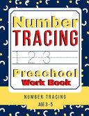 Number Tracing Preschool Workbook  Number Tracing Age 3 5