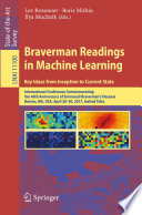 Braverman Readings in Machine Learning  Key Ideas from Inception to Current State
