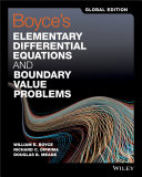 Boyce s Elementary Differential Equations and Boundary Value Problems