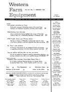 Western Farm Equipment Book PDF