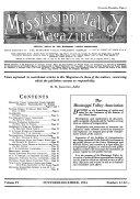Mississippi Valley Magazine  Book PDF