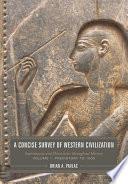 A Concise Survey of Western Civilization Book