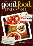 The Age Good Food Under  30 Book