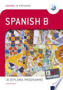 Oxford IB Diploma Programme  IB Prepared  Spanish B