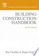Building Construction Handbook Low Priced Edition