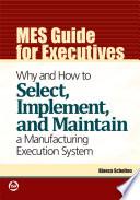 MES Guide for Executives Book