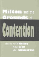 Milton and the Grounds of Contention