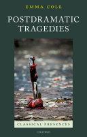 Pdf Postdramatic Tragedies Telecharger