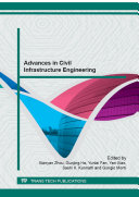 Advances in Civil Infrastructure Engineering
