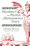 Pdf Prophecy and People in Renaissance Italy