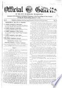 Official Gazette Of The City Of Spokane Washington