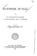 Handbook of P  li