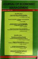Journal Of Economic Management Book PDF